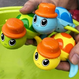 Cute Wound-up Baby Bath Toys