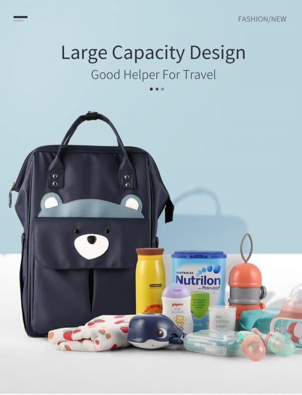 Baby Stroller Diaper Backpack