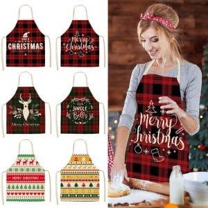 Merry Christmas Kitchen Apron