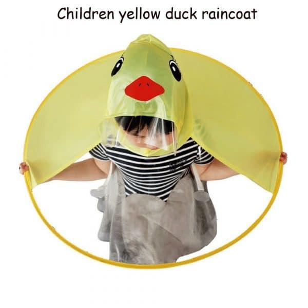 Cute UFO Duck Raincoat/Umbrella