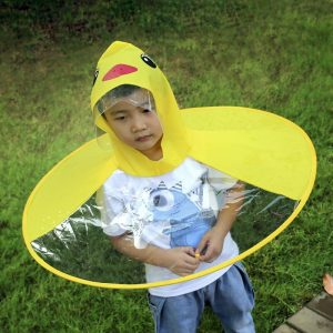 Cute UFO Duck Raincoat/Umbrella